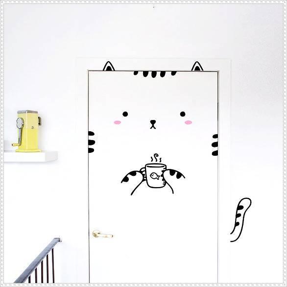 มาตกแต่ง ประตูห้องนอนให้น่ารักกันเถอะ!! (7)