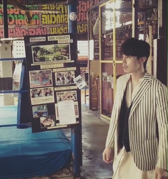 ลีดงวุค มาถ่ายแบบที่ไทย (4)