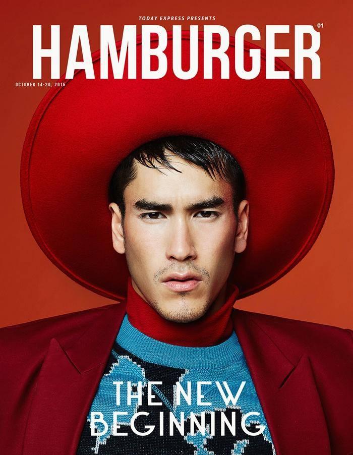 ณเดชน์ บนปก Hamburger