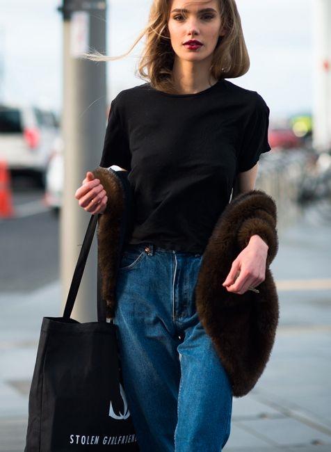 แฟชั่น เสื้อยืด กางเกงยีนส์ (18)