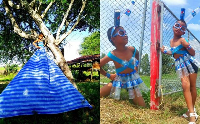 กีกี้จูโน่ นางฟ้าบ้านน้า แฟชั่นนิสต้ารุ่นจิ๋ว ครีเอทเป็นเลิศ สร้างสรรค์ชุดสวยๆ จากของใกล้ตัว