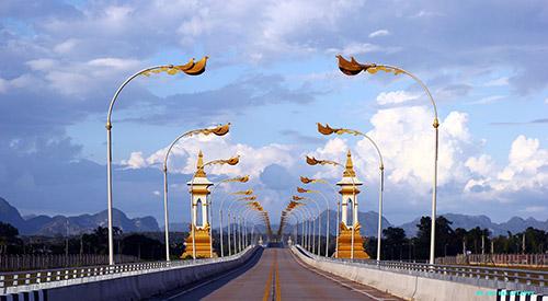 สะพาน สะพานมิตรภาพ เวียงจันทน์ ไทย-ลาว