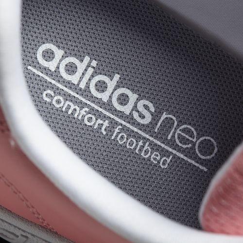 Women's adidas Neo Advantage Clean (AW4747) สีชมพูพาสเทลหวานๆ