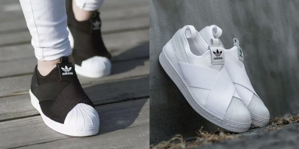 Adidas Superstar Slip On รองเท้าผ้าใบสไตล์มินิมอล
