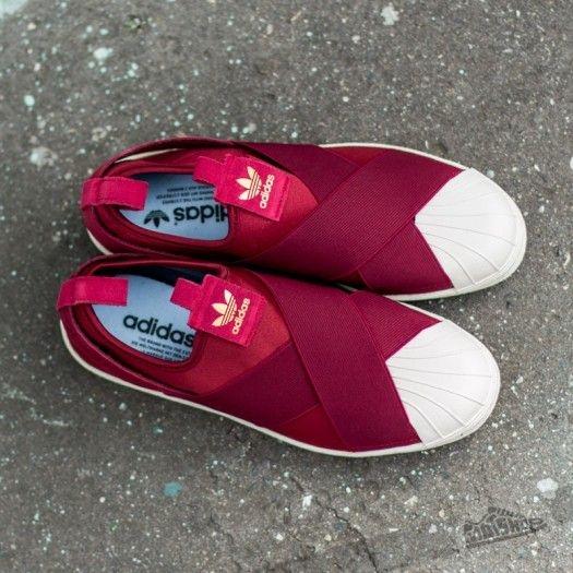 Adidas Superstar Slip On รองเท้าผ้าใบสไตล์มินิมอล (15)