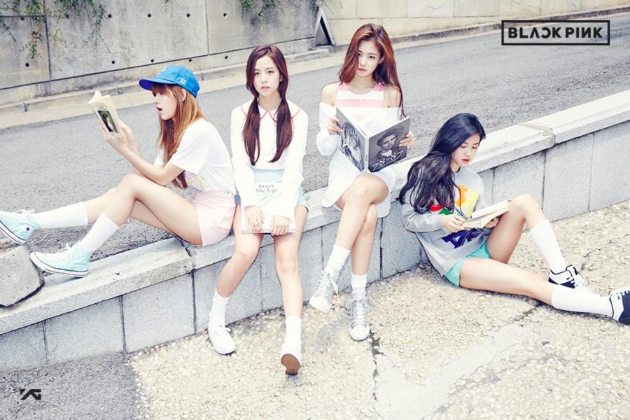 ภาพเปิดตัว BLACKPINK 4 สาวเกิร์ลกรุ๊ปน้องใหม่ YG