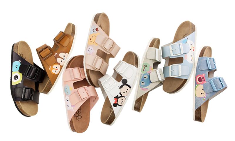 Disney Tsum Tsum Cork Sandals (1)