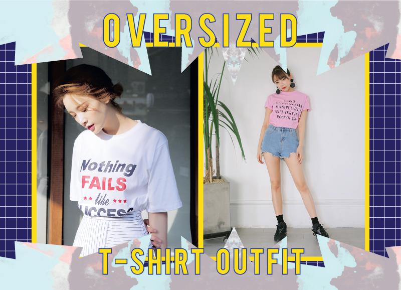 issue 37 Oversized เสื้อผ้า เสื้อยืด แฟชั่นนักศึกษา