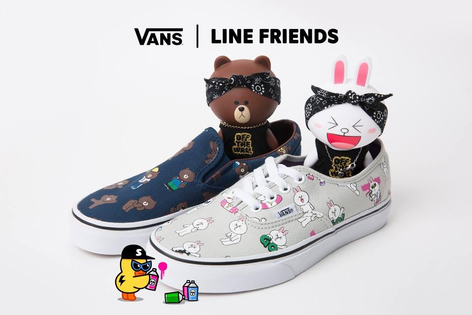 VANS LINE FRIENDS (1)