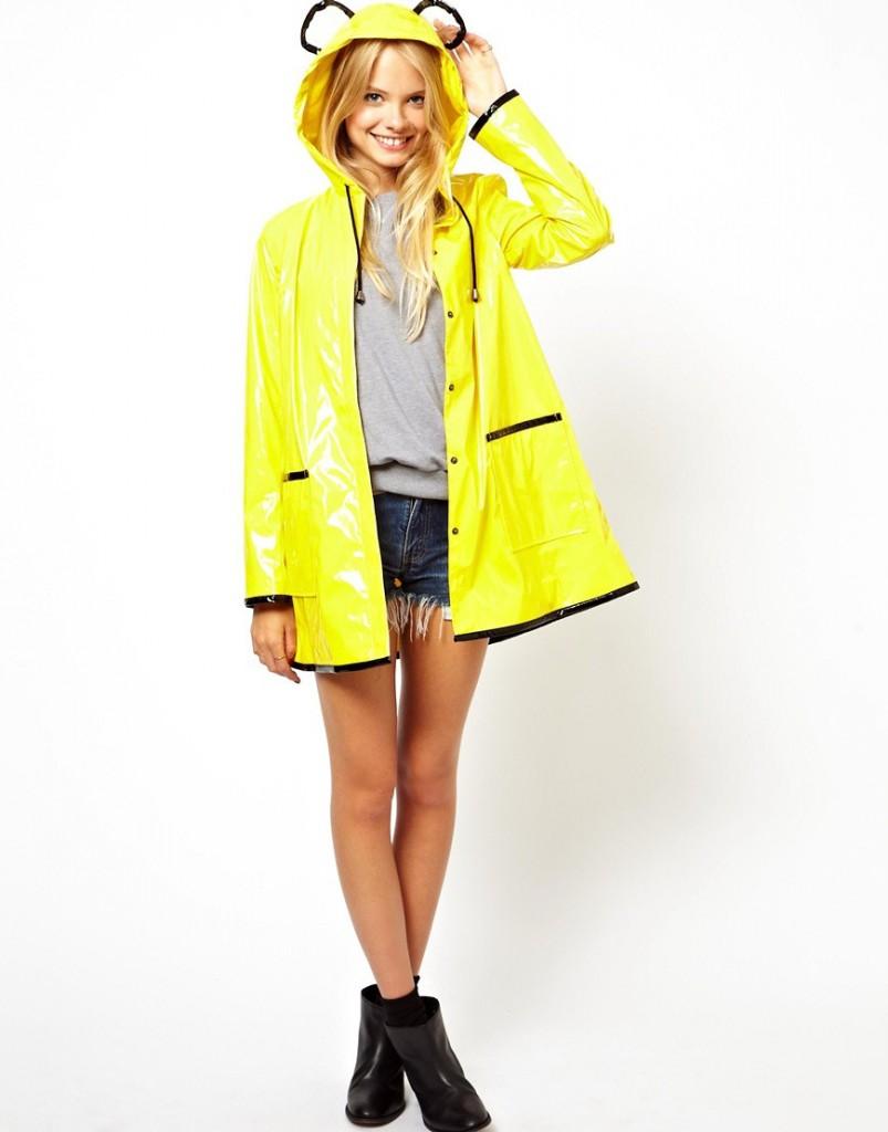 แฟชั่นเสื้อกันฝน (Rain Coats)
