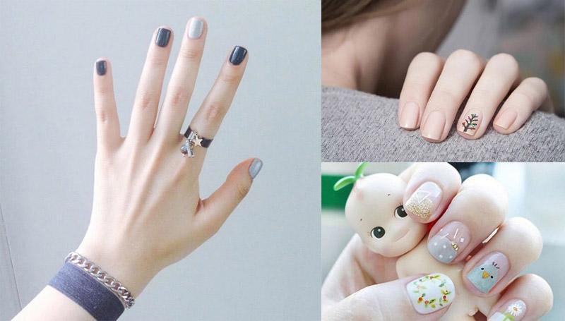 nails ทาเล็บ ลายเล็บน่ารัก