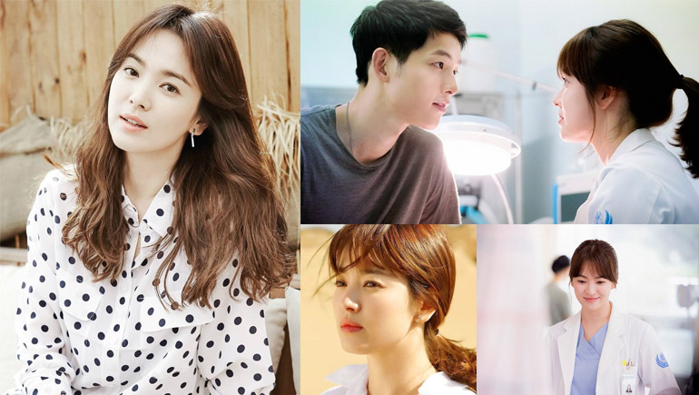 Descendants of the Sun Song Hye Kyo songsongcouple ซองเฮเคียว ซีรีส์เกาหลี ประวัติดารา สาวเกาหลี หมอคัง