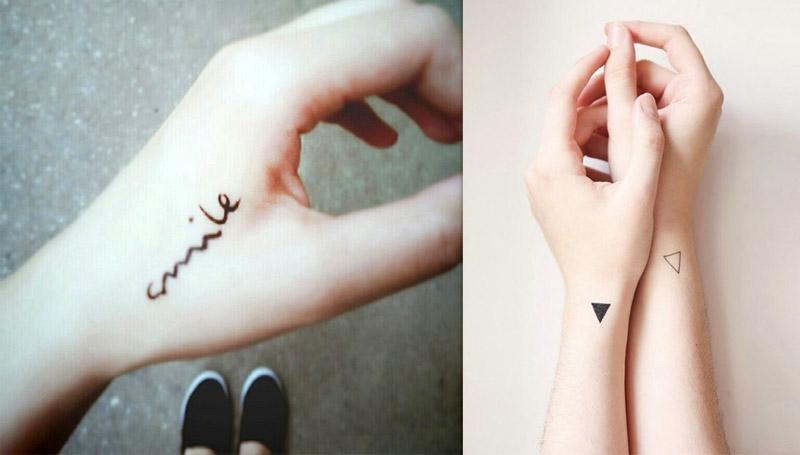 รวมภาพ รอยสักเล็กๆ mini Tattoo แบบน่ารัก