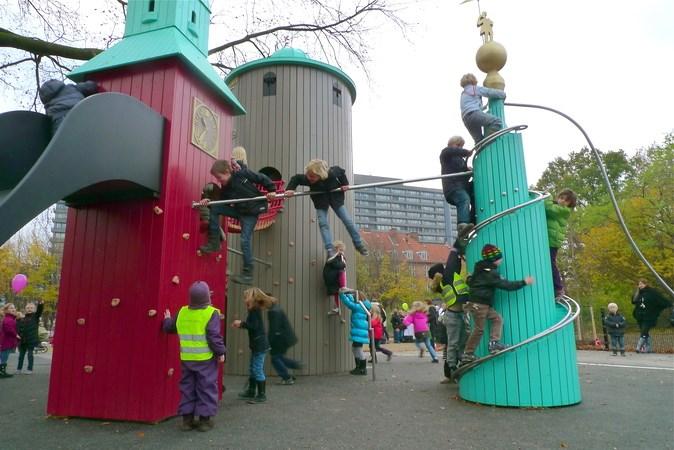 5. Københavns bytårne i børnehøjde (Copenhague, Dinamarca)
