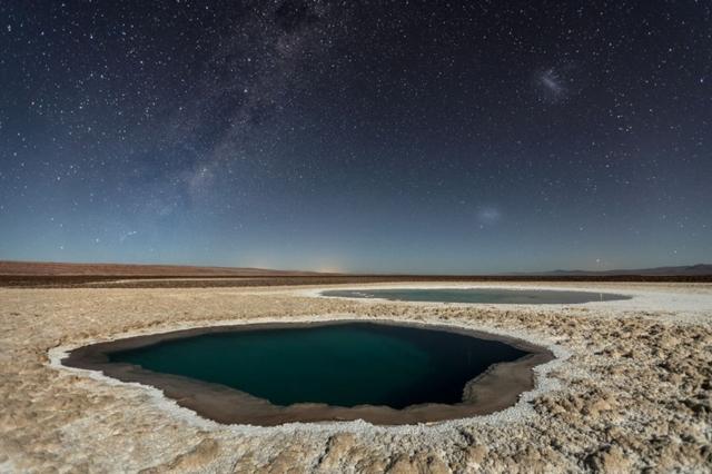 THIRD PLACE WINNER, NATURE  Lagunas Baltinache (Atacama Desert) Photo by Victor Lima