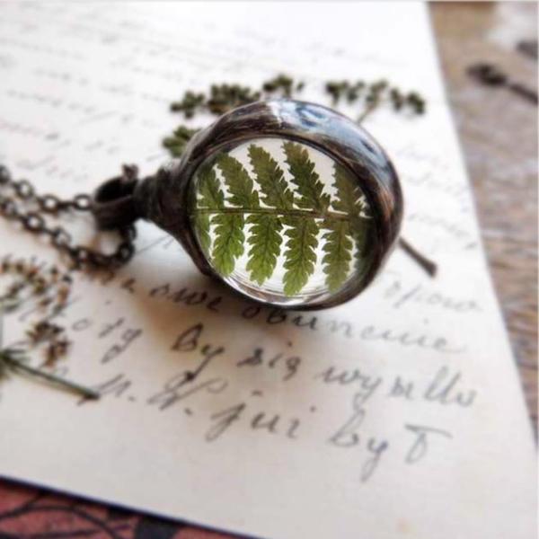 necklace,ring vintage flower (12)