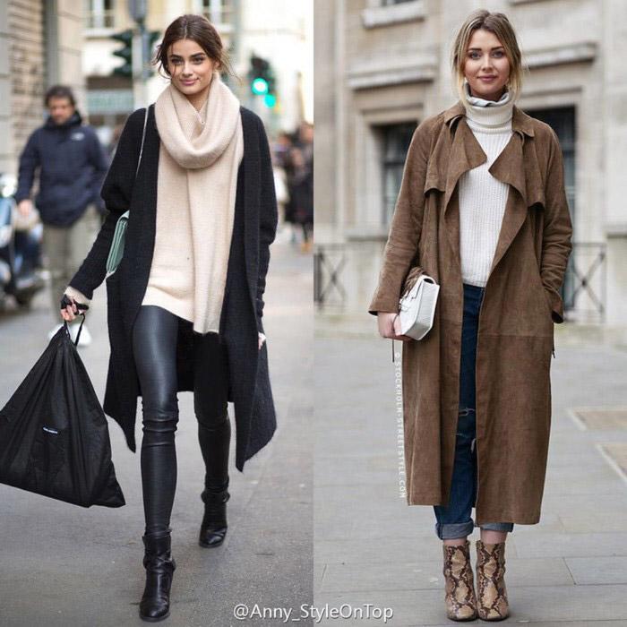 Overcoat เสื้อกันหนาว เสื้อคลุมตัวยาว