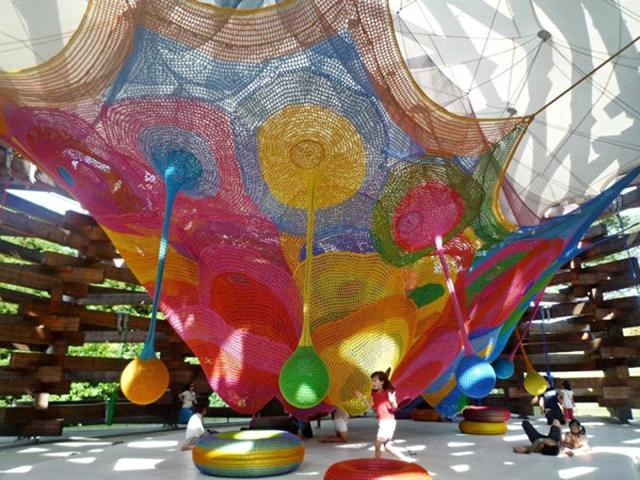 Playground ความคิดสร้างสรรค์ นักเรียน สนามเด็กเล่น