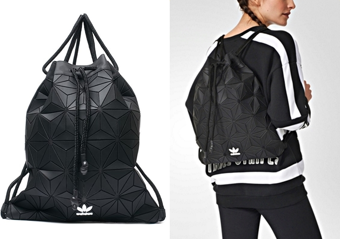 ADIDAS BUCKET GYMSACK BLACK