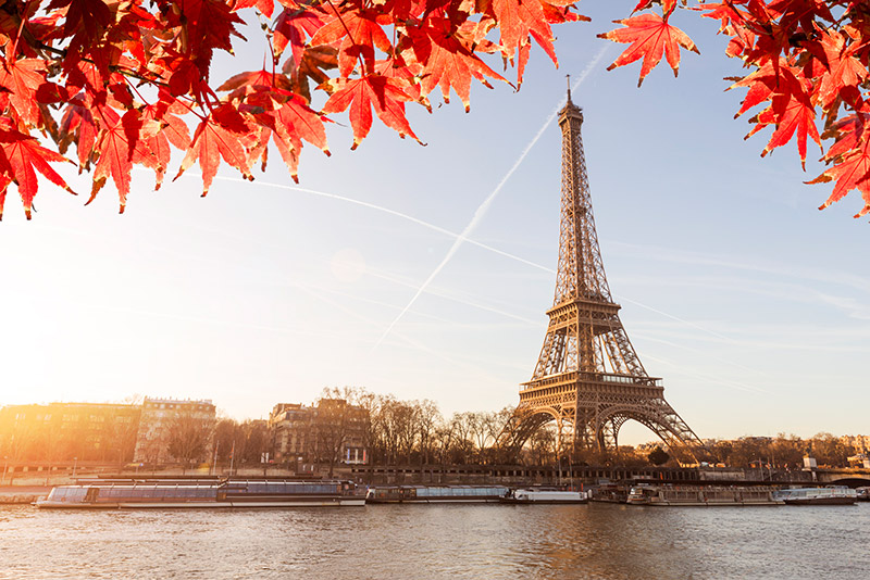 Paris กรุงปารีส ประเทศฝรั่งเศส