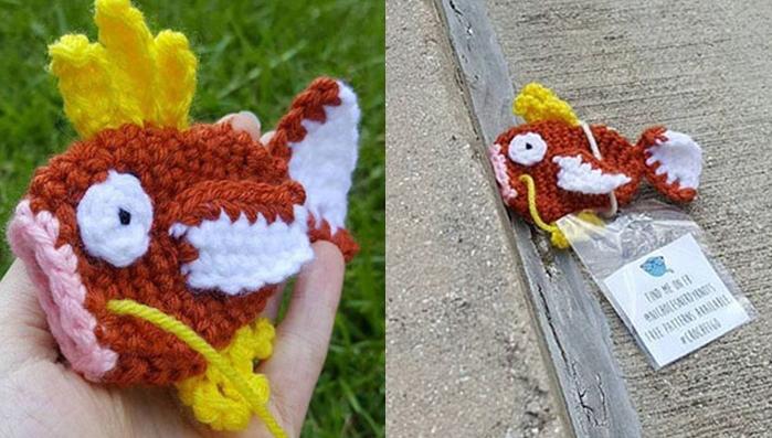 Pokemon GO กระแสโซเชียล ถักโครเชต์