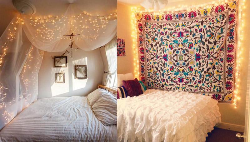 ห้องนอน หอพัก แต่งห้อง
