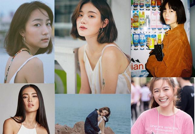 สาวน่ารัก สาวไทย สาวไทยหน้าเก๋ หลิน มชณต เหมยลี่ เอเชียนลุค โยเกิร์ต รวีวรรณ