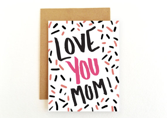 mother day card minimal 16