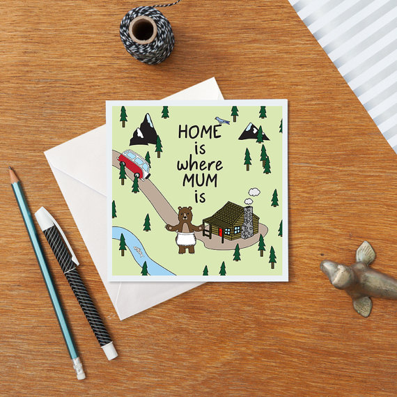 mother day card minimal 5