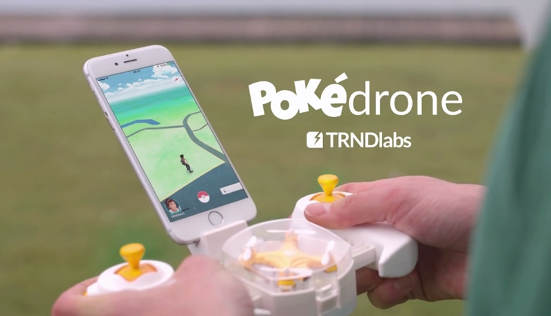 Pokedrone Pokemon GO เกม โปเกมอน
