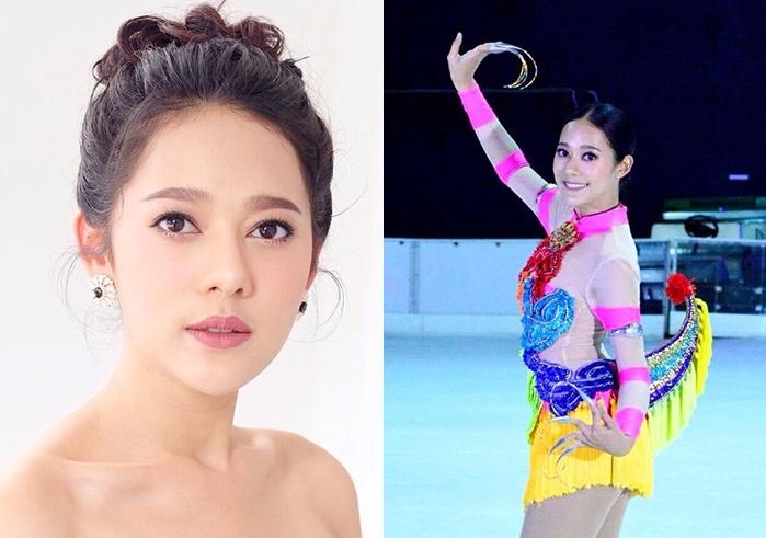 Skate Asia ทับทิม อัญรินทร์ นางเอกช่อง7 มาเลเซีย สาวน่ารัก