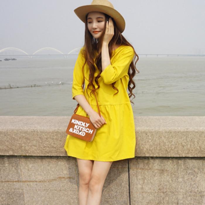 แฟชั่นสีเหลือง แบบน่ารัก ใส่แล้วเบิกบานใจ
