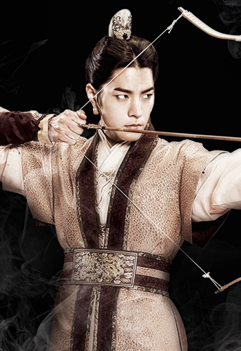 Hong Jong Hyun รับบทเป็น วังโย(องค์ชายสาม)