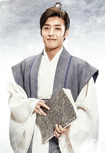 Kang Ha Neul รับบทเป็น วังอุค(องค์ชายแปด)