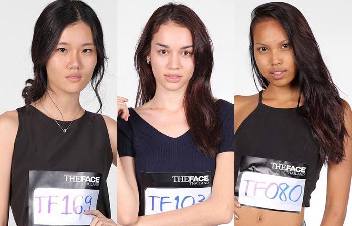 The Face Thailand นางแบบ สาวสวย