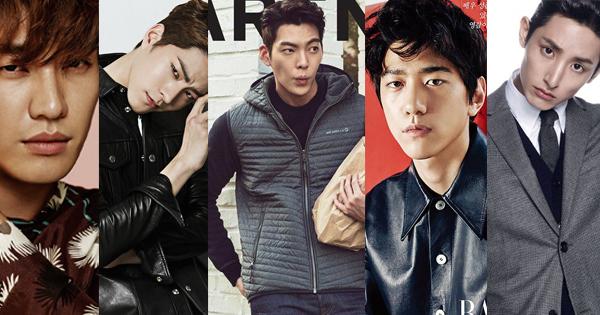 Hong Jong Hyun Kim Woo Bin Kim Young Kwang Lee Soo Hyuk Model Avengers Sung Joon ซีรีส์เกาหลี ดาราผู้ชายเกาหลี นายแบบหล่อ เกาหลี