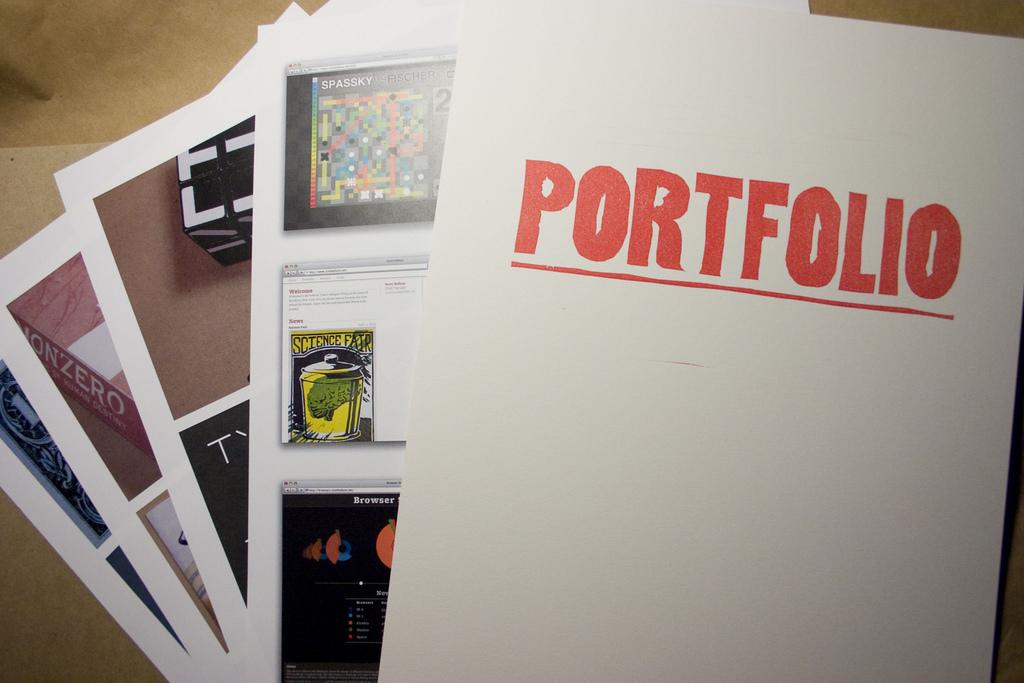 Portfolio resume สมัครงาน เรียนต่อ แฟ้มสะสมผลงาน