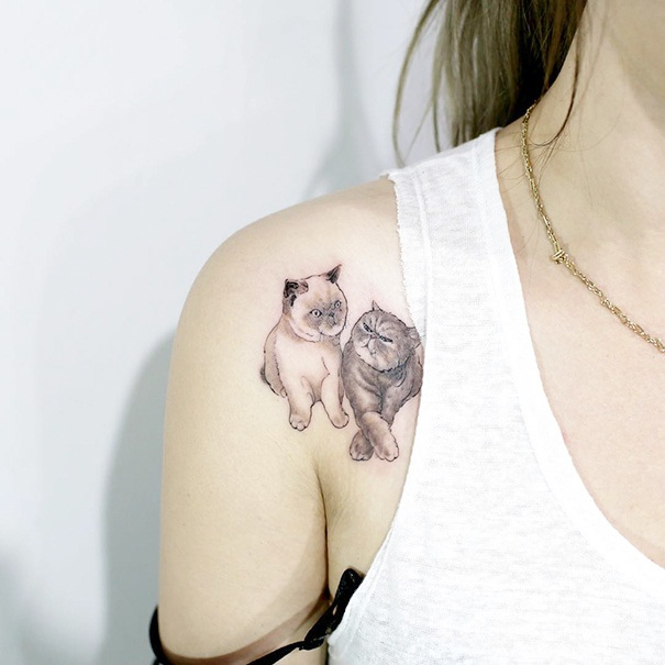 Cat Tattoo Ideas (12)