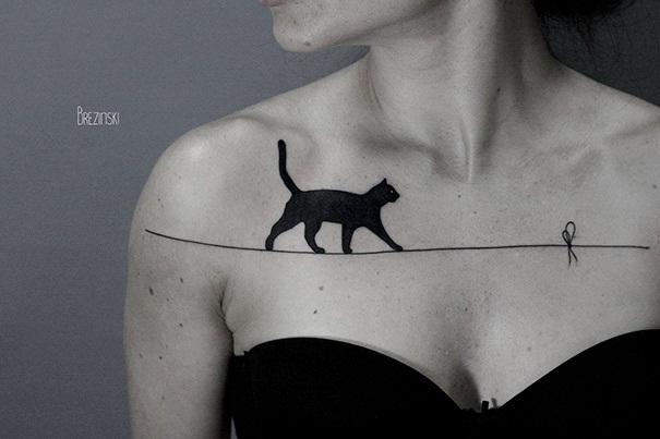 Cat Tattoo Ideas (45)