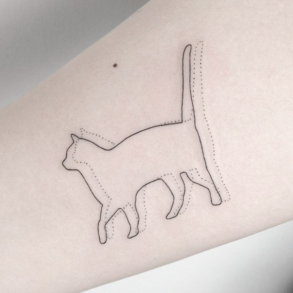 Cat Tattoo Ideas (48)