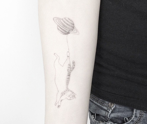 Cat Tattoo Ideas (52)