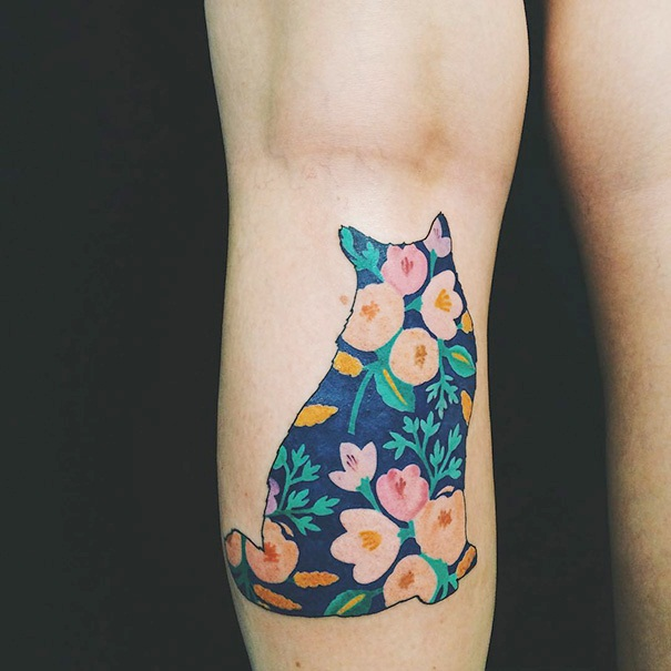 Cat Tattoo Ideas (55)
