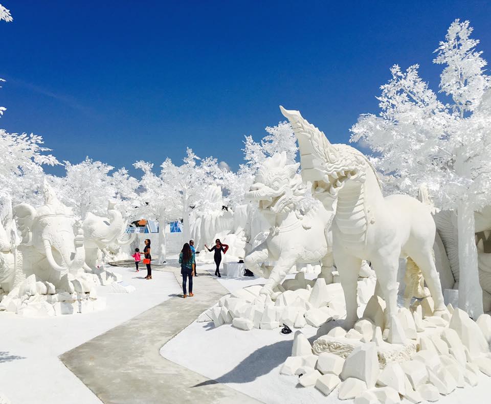Frost Magical Ice of Siam ที่เที่ยวใหม่พัทยา เมืองน้ำแข็ง