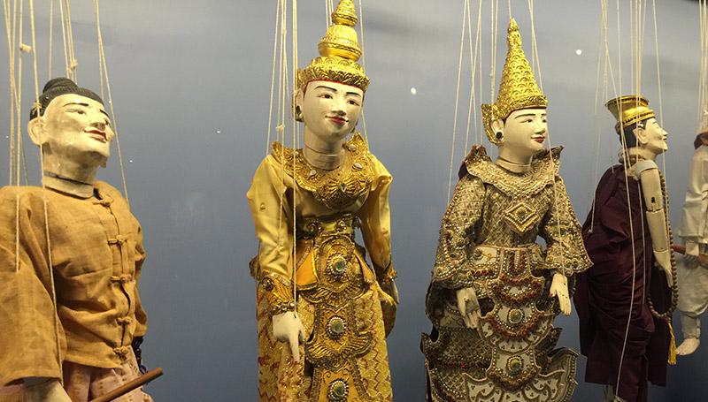 พม่า พิพิธภัณฑ์ พิพิธภัณฑ์สถานแห่งชาติพม่า เที่ยวพม่า