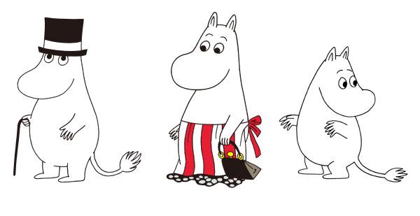 moomin-family Moominpappa : Moominmamma : Moomintroll