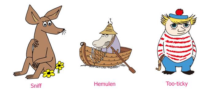 moomin-firends