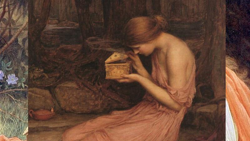 Pandora กล่องแพนโดรา กล่องแห่งความชั่วร้าย ตำนาน
