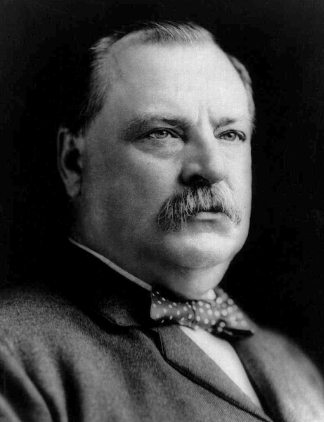 24 Stephen Grover Cleveland