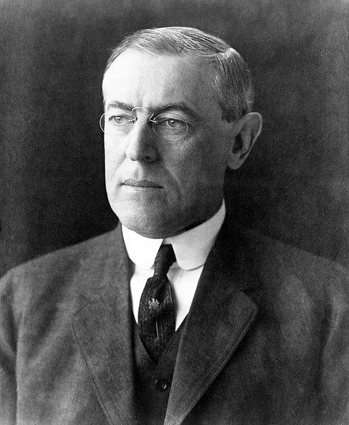 28 Thomas Woodrow Wilson