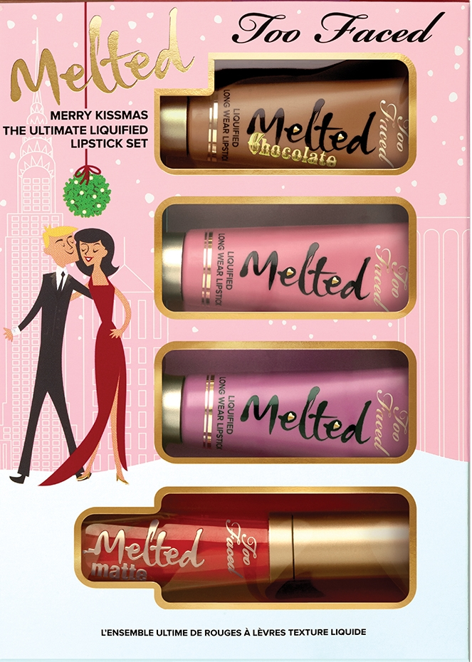 MERRY KISSMAS too faced